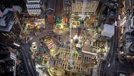 TfL and Crossrail unveil images of Tottenham Court Road station as major transport hub takes shape