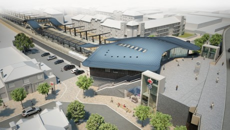 Crossrail submits plans for new landmark station at Abbey Wood