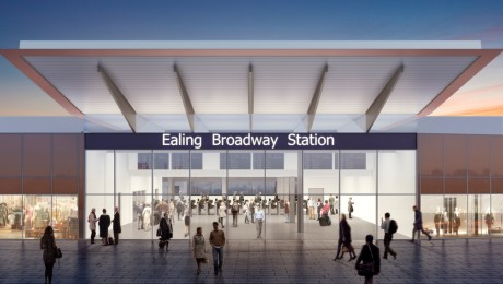 Crossrail submits plans for major improvements to Ealing Broadway station