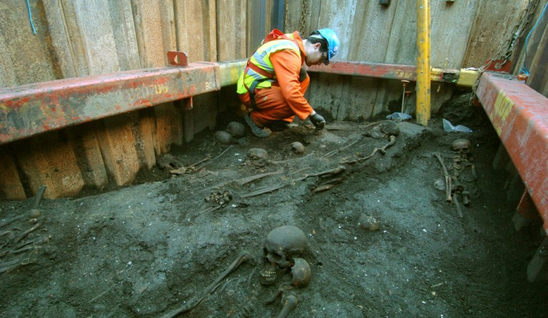 Liverpool Street archaeology