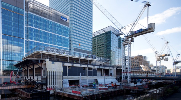 99913_Canary Wharf Crossrail Station September 2013