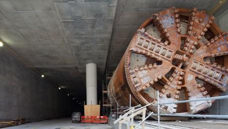 Crossrail�s tunnelling in southeast London reaches the half-way point