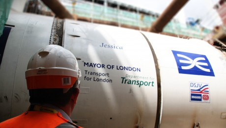 Olympic champions join Crossrail�s marathon tunnelling race