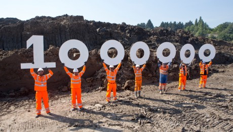 1 millionth tonne of earth removed from Crossrail�s west London tunnels