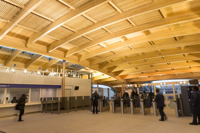 Abbey Wood's new station building is now open