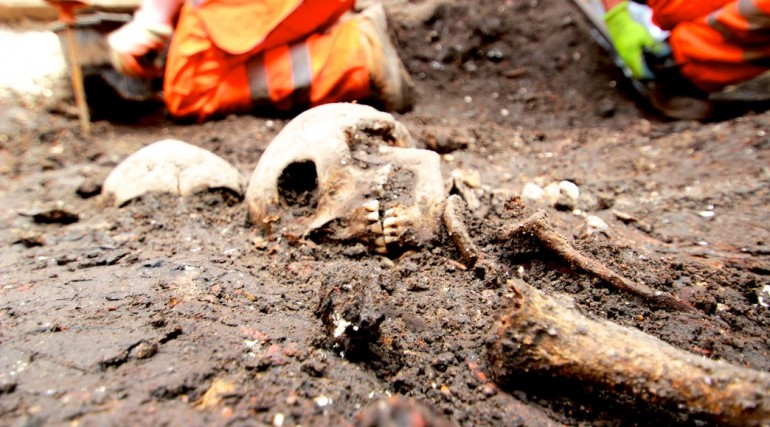 Archaeological finds at Bedlam burial site in Liverpool Street_151484