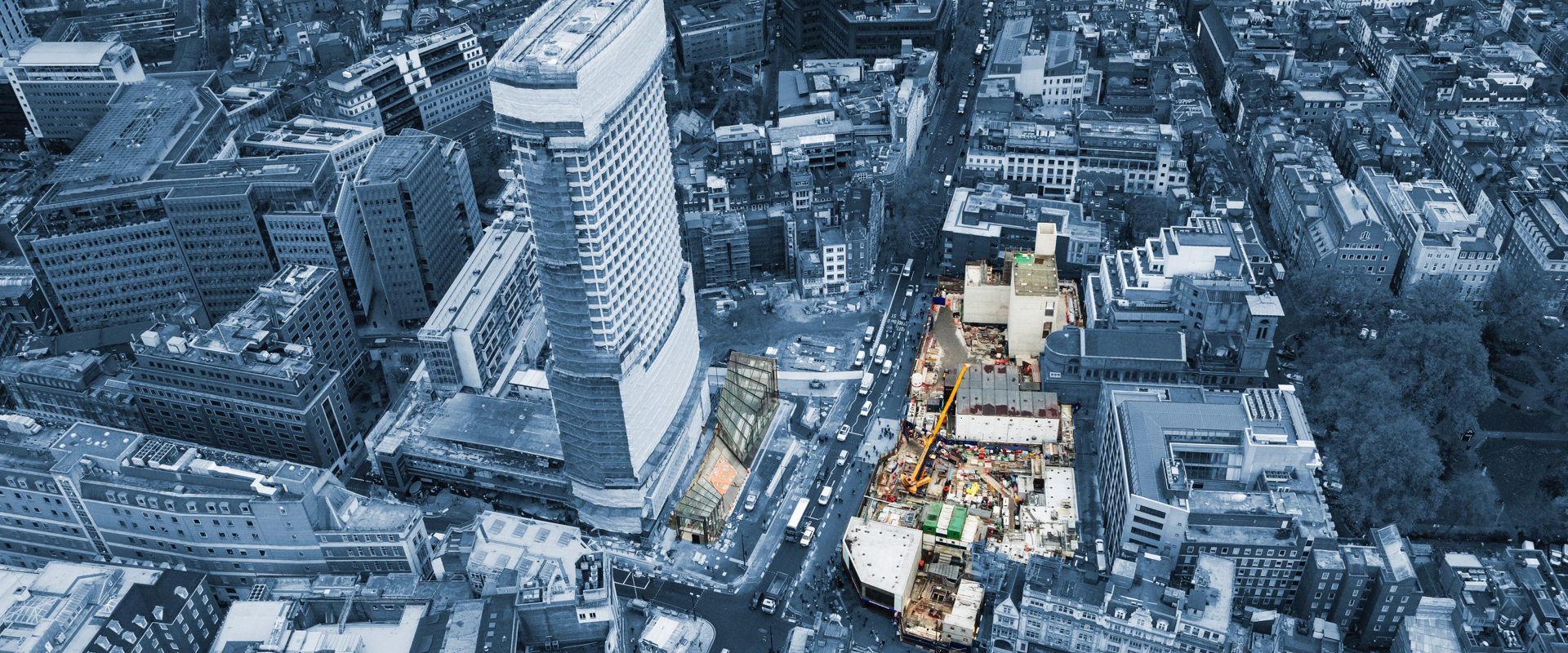 Aerial view of Tottenham Court Road station_carousel