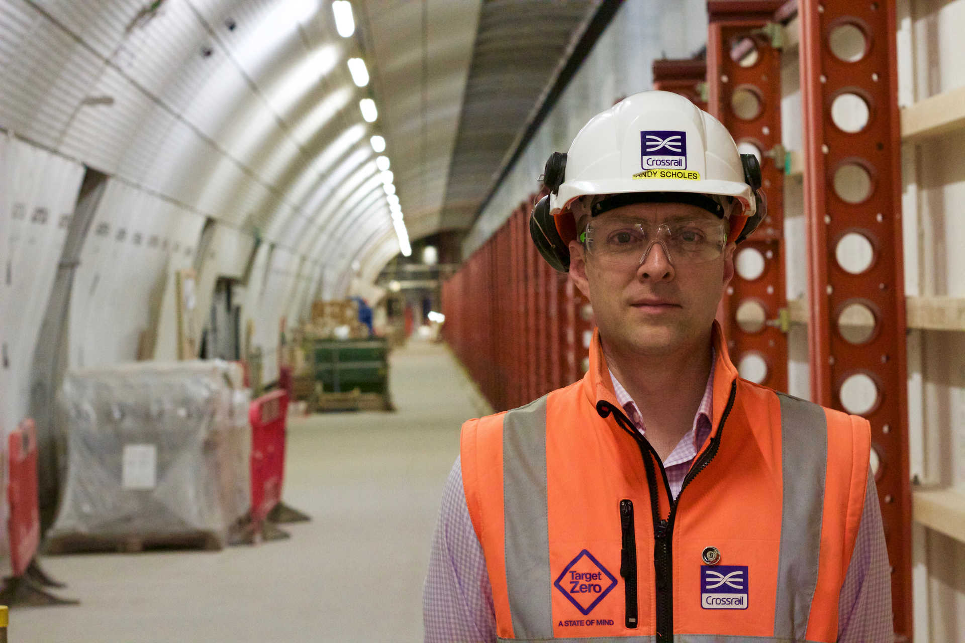 Andy Scholes: Site Manager, Farringdon station_270623