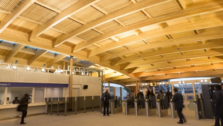 Abbey Wood�s new station building is now open