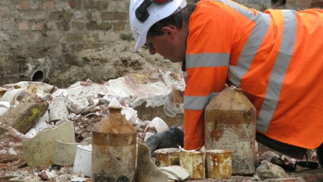 Archaeological investigations at Tottenham Court Road