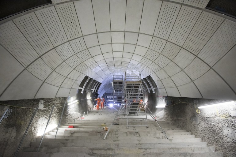 New images highlight architectural fit out of Elizabeth line stations