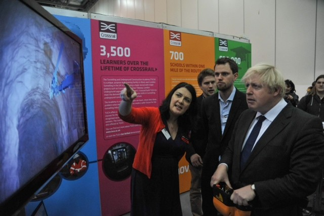 Crossrail helps launch Skills London 2012