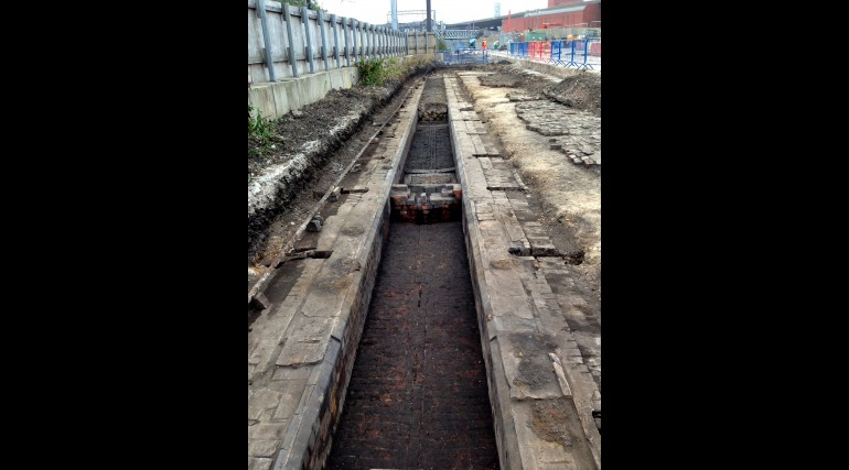 Brunel engine room uncovered at Paddington New Yard_158006