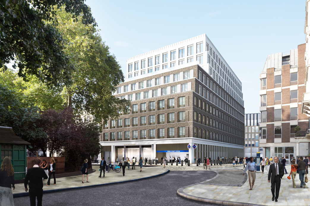 Bond Street Station - Hanover Square urban realm proposals_139002