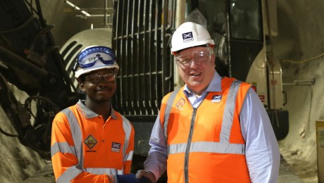 Crossrail contractor Bam Ferrovial Kier appoints its 100th apprentice