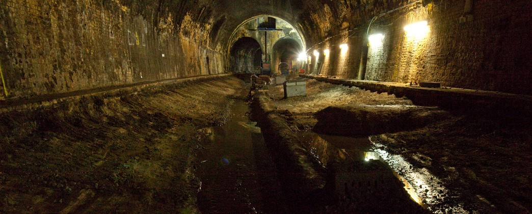 Route to the past: Connaught Tunnel