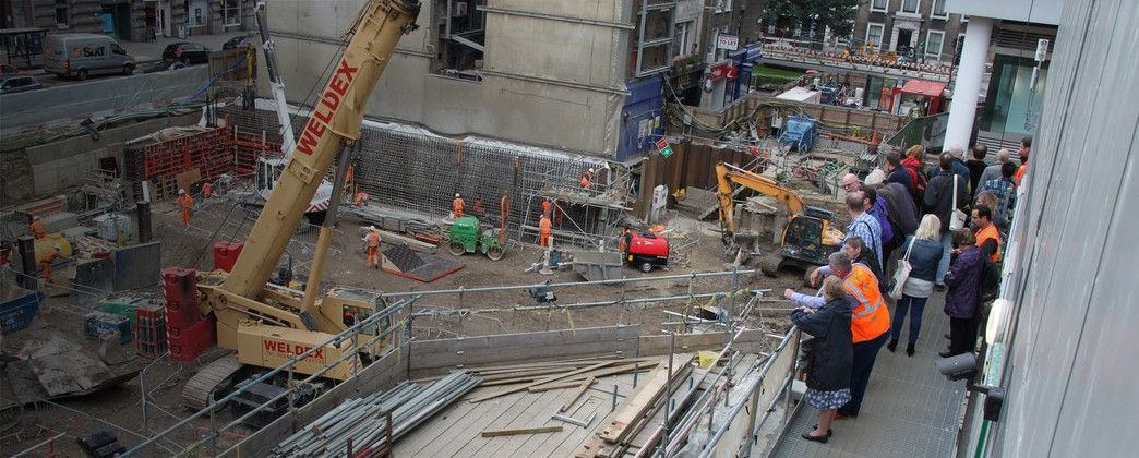 Crossrail to open 3 work sites for Open House London 2014