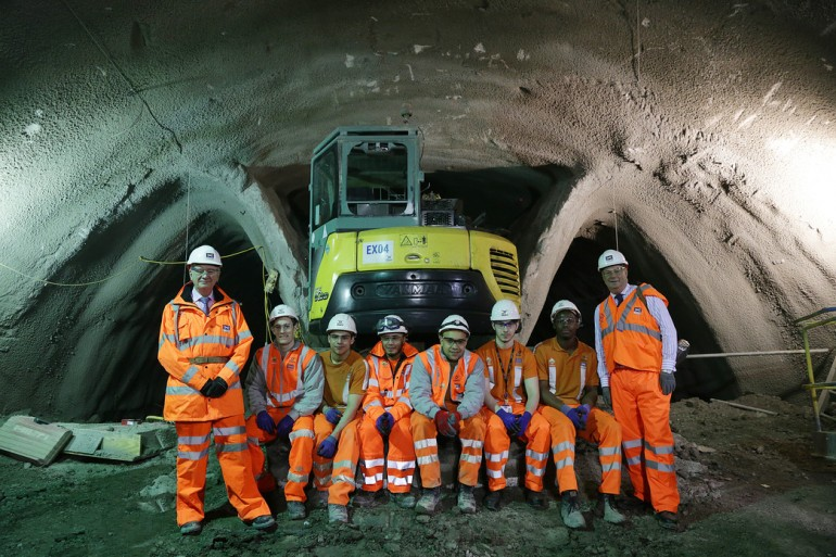 Crossrail sets standard for attracting out of work into apprenticeships
