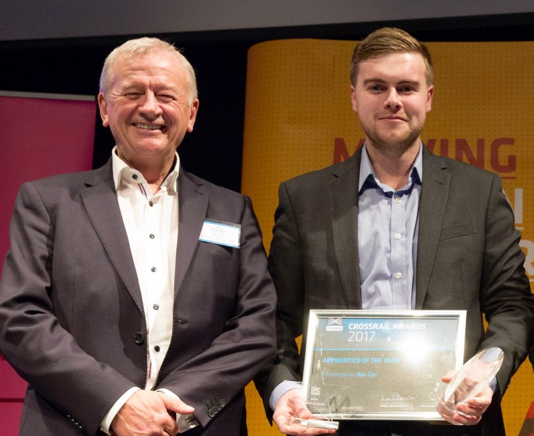 Apprentices celebrated at Crossrail's annual awards