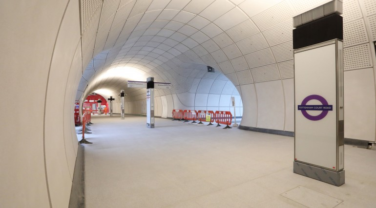 Tottenham Court Road Station Construction Progress_320975