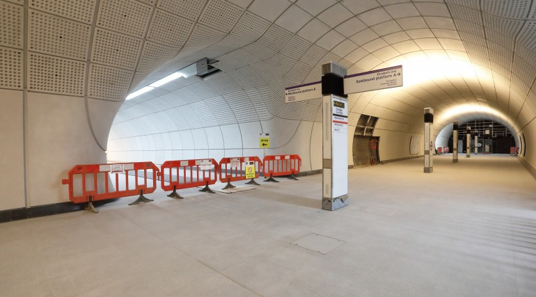 Tottenham Court Road Station Construction Progress_320977