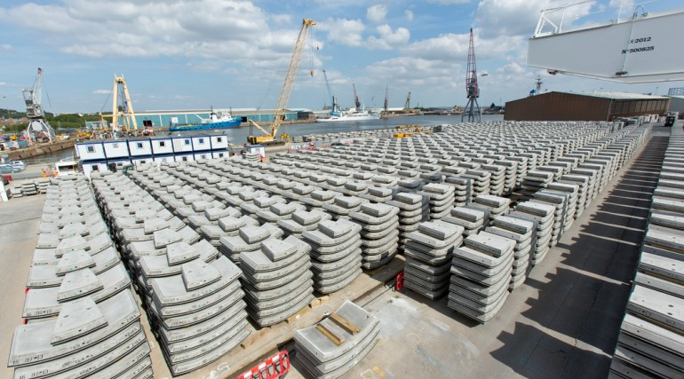 Chatham Dockyard Concrete Segments_103746