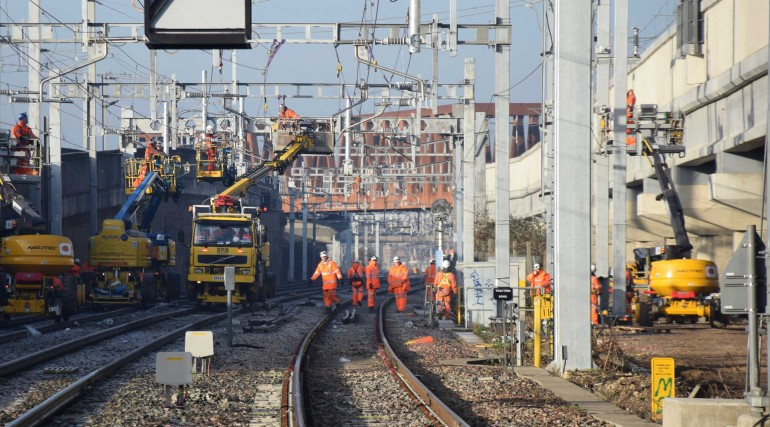 Christmas work at Stockley junction_256448