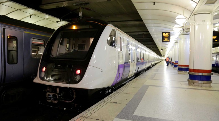 First Elizabeth line train arrives at Liverpool Street station_262062