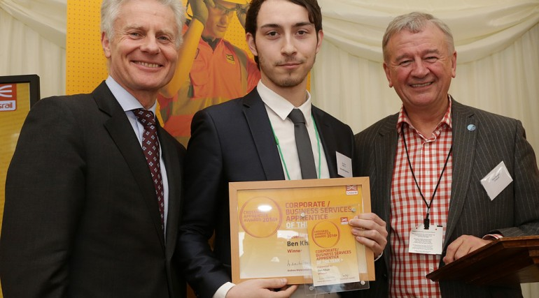 Corporate Apprentice of the Year - Ben Khan, Whitechapel and Liverpool Street tunnels_127615