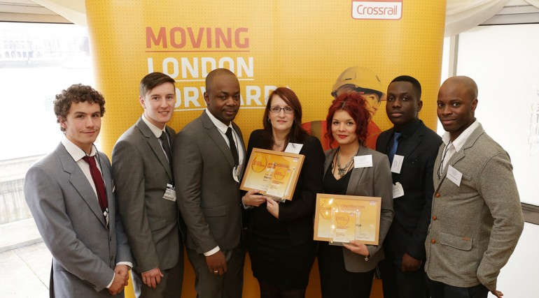 Crossrail Apprentice Awards 2014 - C300-410 BFK Joint Venture apprentices_127625