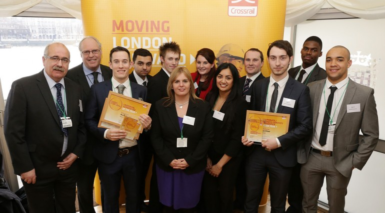 Crossrail Apprentice Awards 2014 - C510 BBMV Joint Venture apprentices_127624