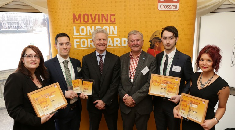 Crossrail Apprentice Awards Winners, 2014_127620