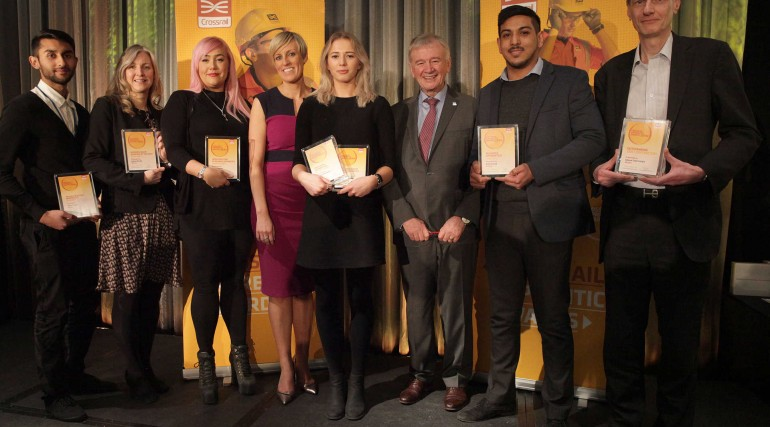 Crossrail Apprentice Awards 2016 - winning apprentices and employers_230326