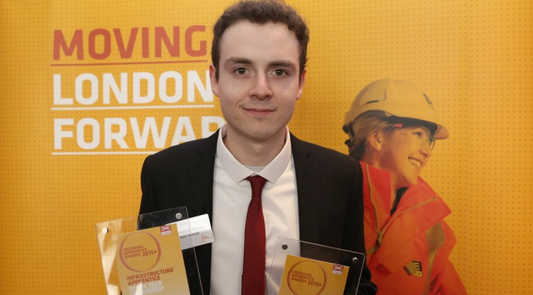 Crossrail Apprentice of the Year - Freddy Denny_189272