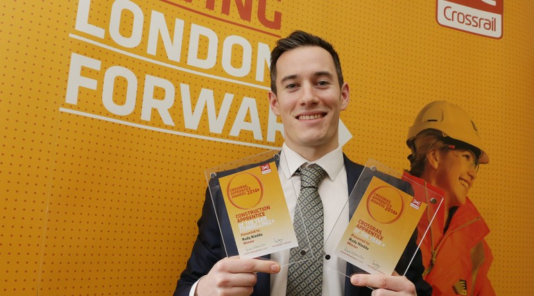 Overall Crossrail Apprentice of the Year - Rudy Nieddu_127623