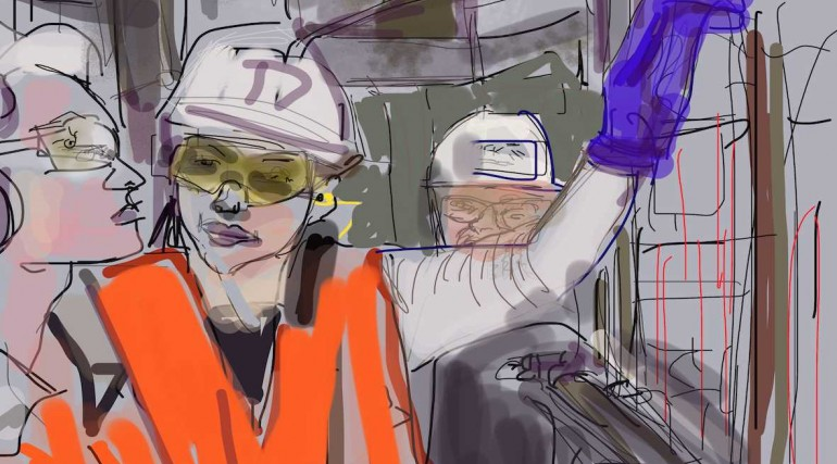 Crossrail artist-in-residence images_174285
