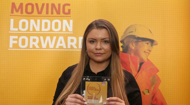 Crossrail Business Apprentice of the Year - Lauren Kennet_189275