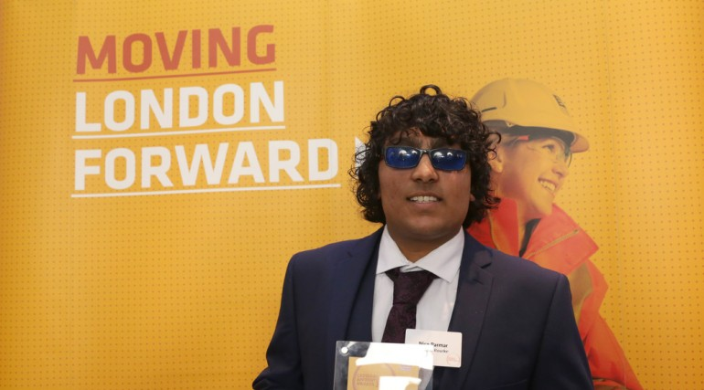 Crossrail Infrastructure Apprentice of the Year _Intermediate Level_ - Nico Parmer_189273