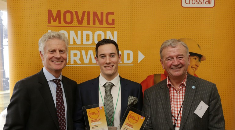 Overall Crossrail Apprentice of the Year - Rudy Nieddu_127616