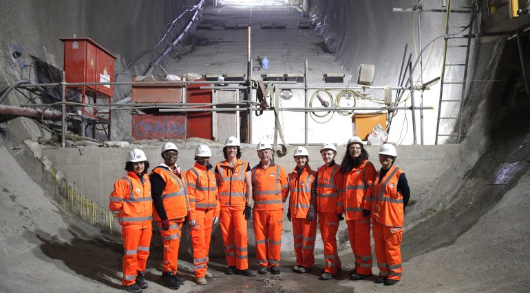 Crossrail Chairman and Rail Minister launch partnership with Women into Construction_212255