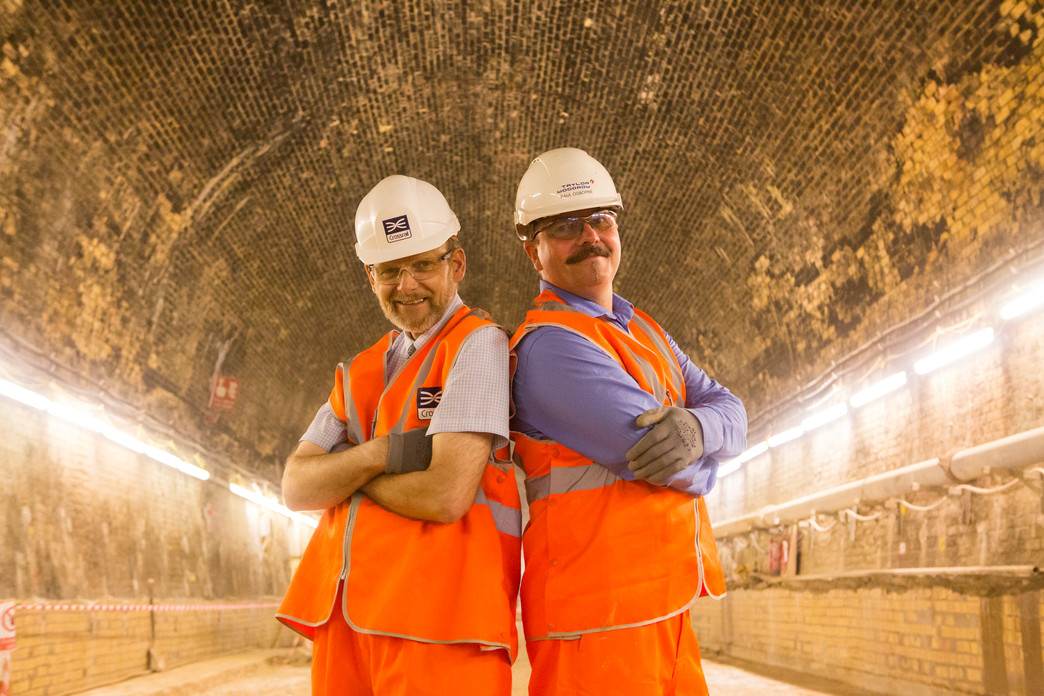 David Wilde and Paul Osborne - Connaught Tunnel