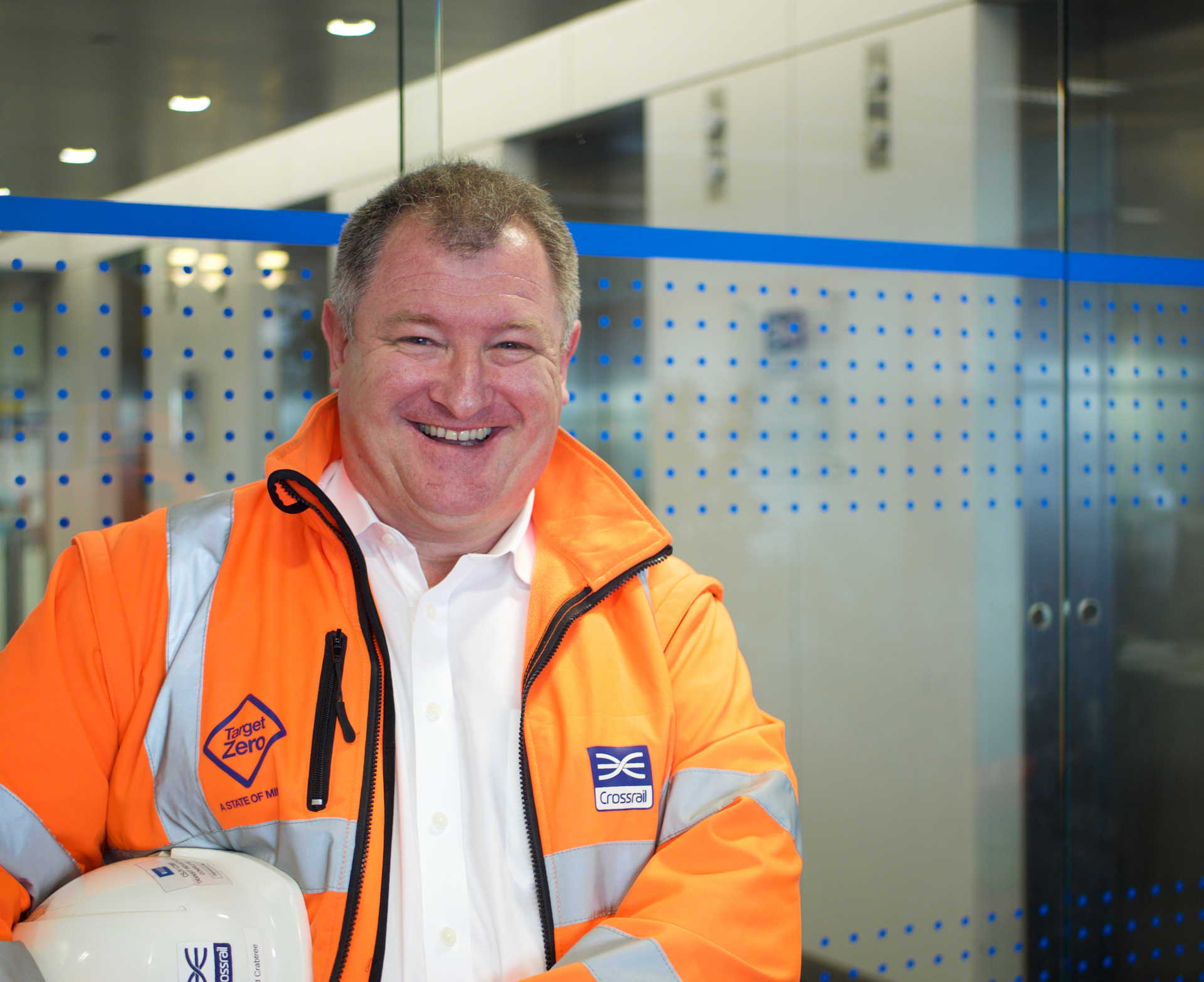 David Crabtree - Construction Manager, Tottenham Court Road station