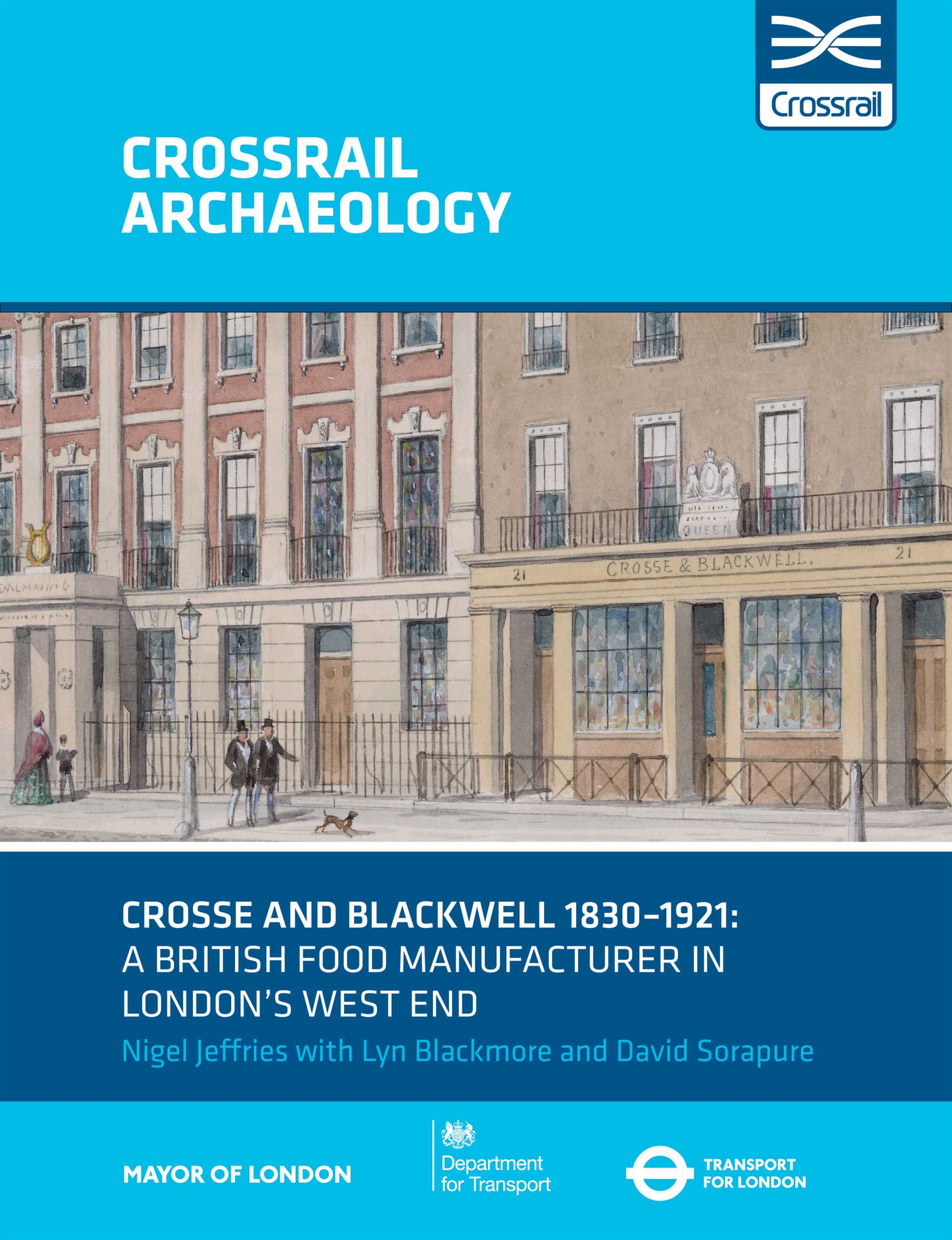 Crosse & Blackwell 1830-1921: A British food manufacturer in London's West End_257619