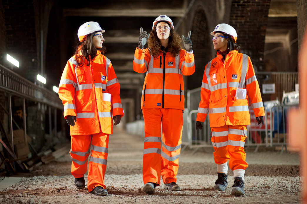 Crossrail inspires budding women engineers