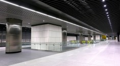 360° tour of Crossrail's Canary Wharf station
