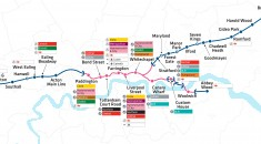 Crossrail route maps