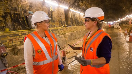 Restoration of derelict Victorian rail tunnel complete