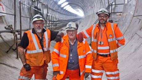 Record breaking Crossrail tunneller set to bow out after fifty years in the business