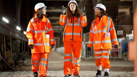 The Crossrail women building Europe's largest infrastructure project