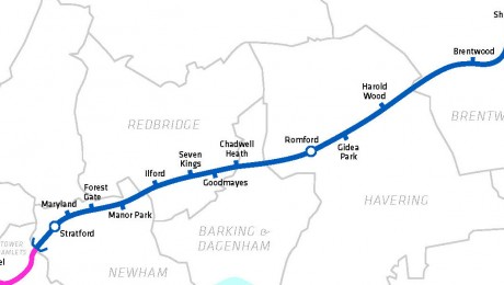 Network Rail awards major Crossrail contract for east London and Essex